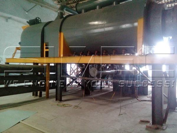Automatic rotary charcoal furnace